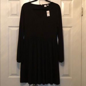 Gap Long Sleeve V-neck Dress